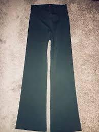 Bally Total Fitness Womens Sweatpants Size M Black
