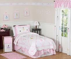 sweet jojo designs pink white ballerina