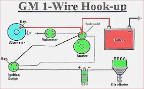 single wire alternator my wiring diagram single wire alternator wiring wiring diagram load single wire alternator schematic gm 1 wire wiring wiring
