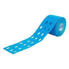 <b>Тейп кинезиологический CureTape</b> Punch Blue, 5 см x 5 м ...