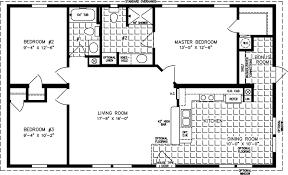 manufactured home floor plan the t n r model tnr 4444b 3 bedrooms