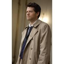 misha collins castiel trench coat