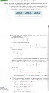3 find real nonreal roots of polynomial equations
