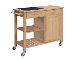 Rolling Kitchen Island Table Linon Home Bamboo Rolling Kitchen Island Best Kitchen Island 2017