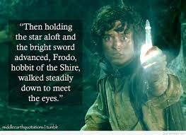 cute middle earth lotr quote