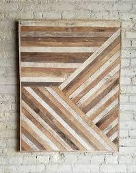 reclaimed wood wall art wood wall