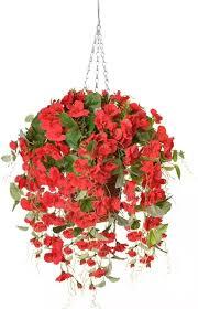 baskets faux flower centerpieces
