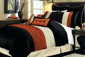 orange comforter set queen black brick orange comforter set euro sham decorate with orange bed set orange comforter set