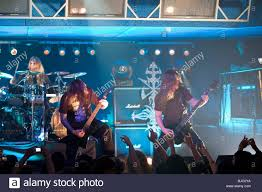 Hypocrisy Sweden Death Metal Band Performs On Stage At Diesel Club