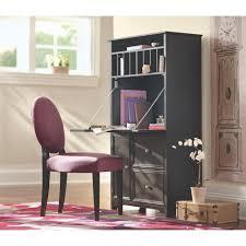 oxford tall secretary desk white kimire design digs