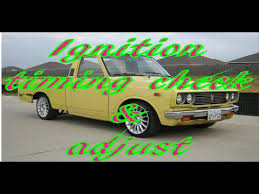 Toyota Pickup ignition timing check and adjustment - YouTube