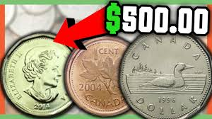 Rare Canadian Coins Worth Money Valuable Canadian Coins In Pocket Change