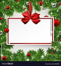 Christmas Invitation Card Christmas Frame With Invitation Card