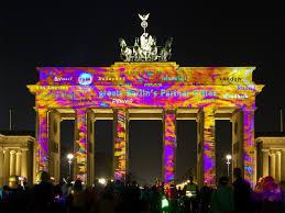 Berlin Festival Of Lights Tour Festival Of Lights Brandenburg Gate Festival Lights