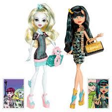 Pack 2 Búp bê Monster High Scaris Exclusive Lagoona Blue & Cleo De Nile