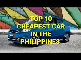 top 10 est car in the philippines