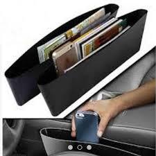 car seat storage box organizer case protect catch catcher caddy pocket black
