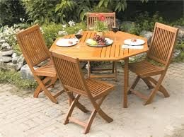 sublime foldable patio table picture beautiful outdoor wooden and chairs best wood furniture for your house