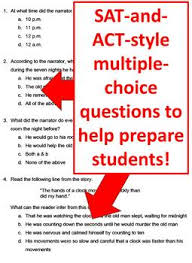 the tell tale heart reading comprehension test quiz and essay  the tell tale heart reading comprehension test quiz and essay questions