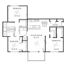 Impressive  Bedroom Apartment Floor Plans Large For Homejpeg - Loft apartment floor plans