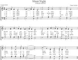 sheet music silent night the center for church music songs and hymns