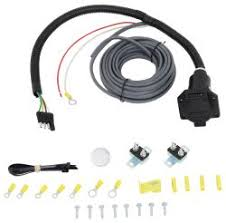 adapters 7 blade wiring etrailer com curt universal installation kit for trailer brake controller 7 way rv 10 gauge