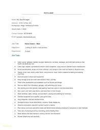 Housekeeping Resume Best Of Housekeeping Resume Examples Housekeeping Resume Examples 17