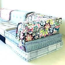 mah jong sofa excellent awful art blue nice roche bobois diy