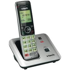 vtech dect 6 0 cs6619 wall mountable cordless phone w handset speaker new 1 of 1only 2 available see more