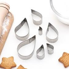 "Набор <b>форм для</b> вырубки печенья ""Капля <b>рифленая</b>"", 7 шт ..."
