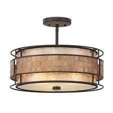 quoizel lighting laa mica semi flushmount ceiling light mc842src hover or to zoom