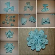 Paper Flower Origami How To Diy Origami Paper Flower Ball Decor