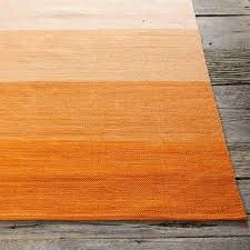 striped rug orange cream outdoor orange striped rug