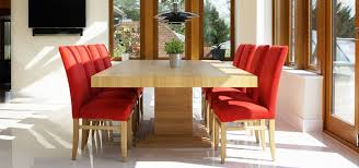 solid oak dining tables in contemporary designs