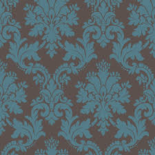 Teal Bedroom Wallpaper Arthouse Opera Byron Brown Teal Wallpaper Departments Diy At