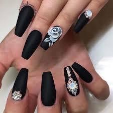 Ver más ideas sobre uñas acrílicas, uñas, disenos de unas. Moda Outfits Unas De Acrilico Negras Facebook