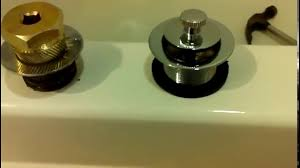 install new bathtub drain easy with a drain removal tool with or without cross tees you