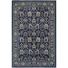 oriental weavers richmond 8020k navy grey area rug