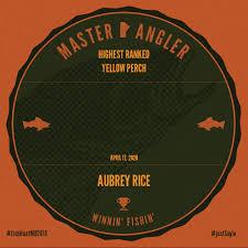 Master Angler Aubrey Rice | Master Angler Manitoba