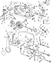 Evinrude outboard parts by year 1985 oem parts diagram for remote rh boats 1994 evinrude throttle shift controls evinrude throttle control box parts