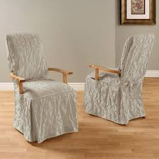 matele damask long arm dining room chair cover now