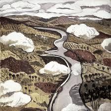 margaret preston flying over the shoalhaven river