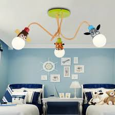 lighting for boys room. childrenu0027s room lamp boy girl bedroom led ceiling lights nordic creative cartoon animal american personality led boys light lighting for