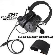 2019 Z <b>Tactical Softair Aviation Headset</b> Comtac Ii Headset Peltor ...
