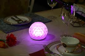 wireless rechargeable battery operated restaurant hotel led dining table lamp