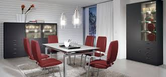terrific contemporary red dining chair modern red dining furniture modern red leather dining chairs