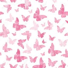 Butterfly Pattern Delectable Seamless Watercolor Pink Butterflies Pattern Royalty Free Cliparts