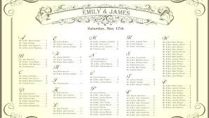 wedding guest seating chart ideas reception template round tables free table layout for 2