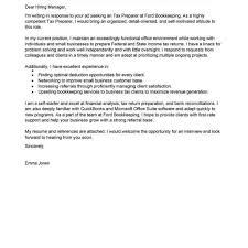 Cover Letter For Tax Preparer Position Financial Editor Cover Letter Writer Impressive Bunch Ideas Of Full