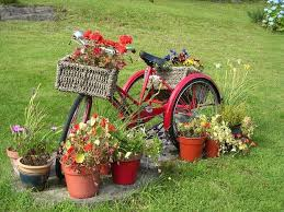garden decorations ideas. Upcycling Bikes In The Garden Creative Decoration Ideas Decorations